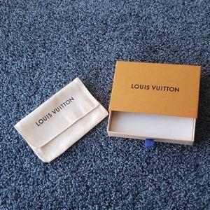 Louis Vuitton Box and Dust Bag